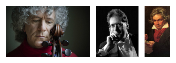 Isserlis Levin Beethoven Collage