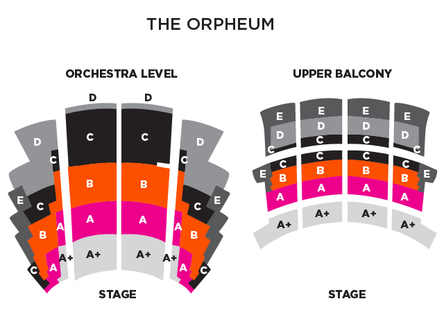 Map of Orpheum