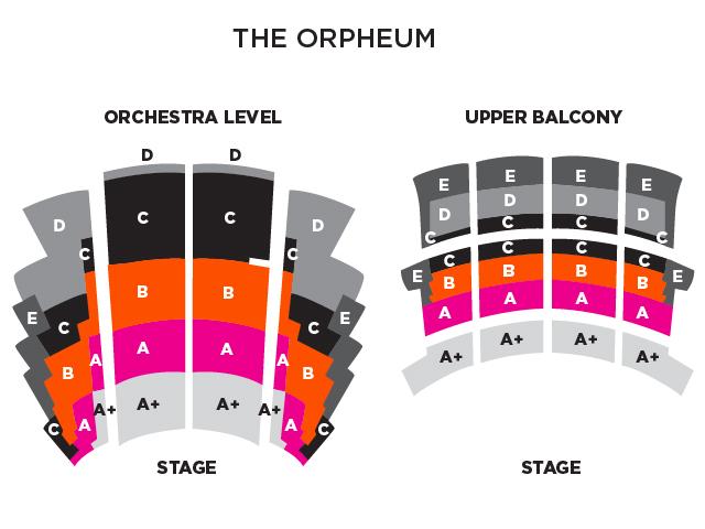 Map of Orpheum